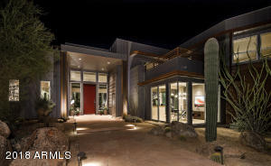 Exceptional detail and walls of glass welcome you home.