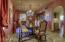 Elegant formal dining room.