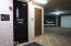 The yellow lines point to the unit's 2 assigned parking spaces!