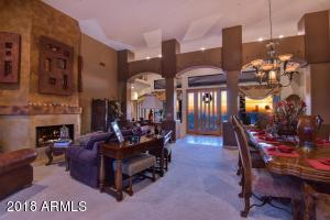 Formal Living Room & Dining room w/amazing sunsets