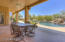 Plenty of covered patio for shade