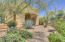 Inviting desert landscape surrounds this home