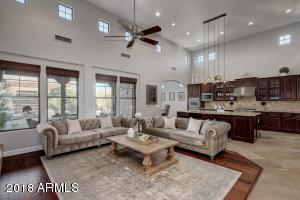 Soaring Ceilings in Great Room