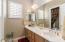Guest bath- dual sinks