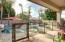 Private backyard with full-length covered Patio. Fenced pool. Flagstone deck.