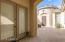 Casita entrance- interior courtyard