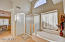 In the master bath you will find separate shower and tub, dual sinks and private toilet room