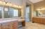 Dual split vanities- master bath