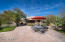Beautifully appointed patio and outcroppings