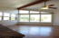 Living Room vaulted ceilings with great views.