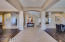 A grand formal entrance brings you into your new formal living and dining!