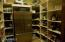 This Pantry was insulated to become a wine cellar.