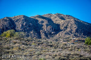 Close up of Apache Peak, from the property. From Apache Peak all the way around to Weaver's Needle and the Superstitions, a home on this property will showcase all those views!