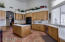 Kitchen - beautiful tile floors throughout the house