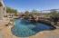 Pool, spa and waterfall!