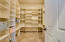 Pantry that is the size of a bedroom! Wired for dual phone lines ( fax) and electrical.