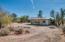 Circular drive to barn, tack house and hay storage area
