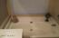 Tub separate from shower