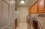 Laundry Room with LG Washer & Dryer