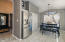 Stainless steel refrigerator and pantry