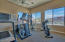 Exercise room for fitness of heart, mind and body!