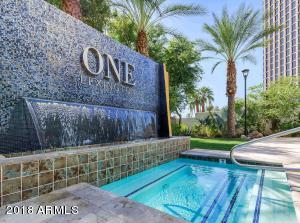 One Lexington is known for their exceptional amenities: Resort-style pool with BBQ's, lounge seating and even a pet area.