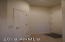 Coat closet at the entry