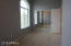 The 2nd bedroom faces away from neighboring buildings- no one can look in.