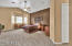 Large master suite with bay window area