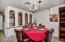 Dining Room and built in Dinette