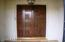 Paneled Wood Entry Door