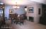 Formal Dining Room or Living Room with 2-way Fireplace