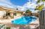 Overized Pool & Covered Patio