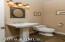 Hallway Guest Bath -Slate Floors
