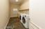 Inside Laundry with Slate floors