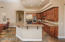 Granite Breakfast bar -Espresso Alder Cabinets