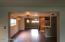 The Kitchen opens to the breakfast and family room.