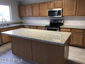 redone kitchen w double oven