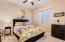 Basement bedroom #2 Furnished