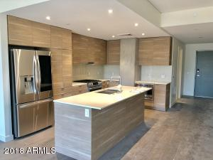 Edge Design package with quartz countertops, Bosch/LG appliances and soft close doors and drawers