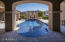 Enjoy this resort style pool and spa