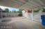 Large covered carport
