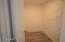 Large closet in Casita