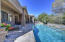 Quiet and serene backyard with privacy and multiple conversation areas!