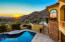 Enjoy the amazing outdoor living spaces and relax while watching incredible AZ sunsets.