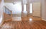 New travertine stone floorings in foyer and kitchen, breakfast area, laundry; new hardwood floorings in living room, dining room, study/den, family room