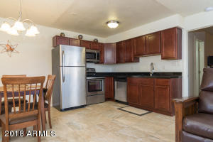 New Cherrywood cabinets, SS appliances, Tile flooring