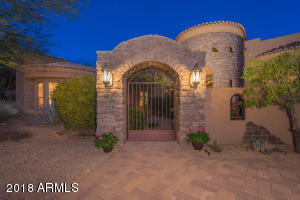 Gated entry to your private courtyard