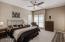 Master bedroom w/balcony
