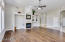 Warm, elegant hickory wood floors, artistic niches and 12-foot ceilings.